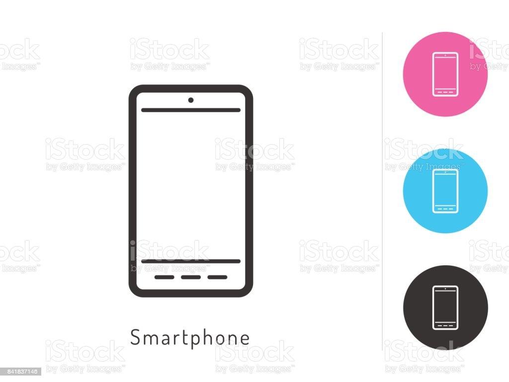 Smartphone Icon Vector Smartphone Symbol For Your Web Site Design