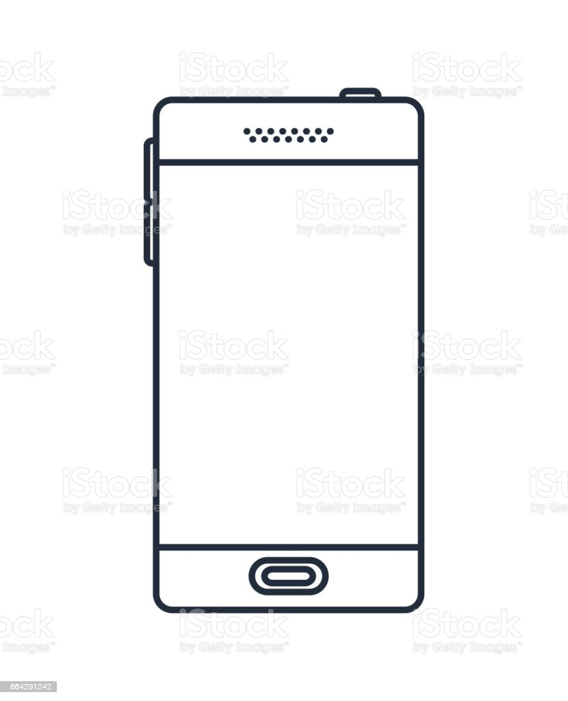 smartphone  isolated icon desig royalty-free smartphone isolated icon desig stock vector art & more images of backgrounds