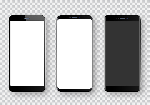Smartphone, realistic vector  illustration