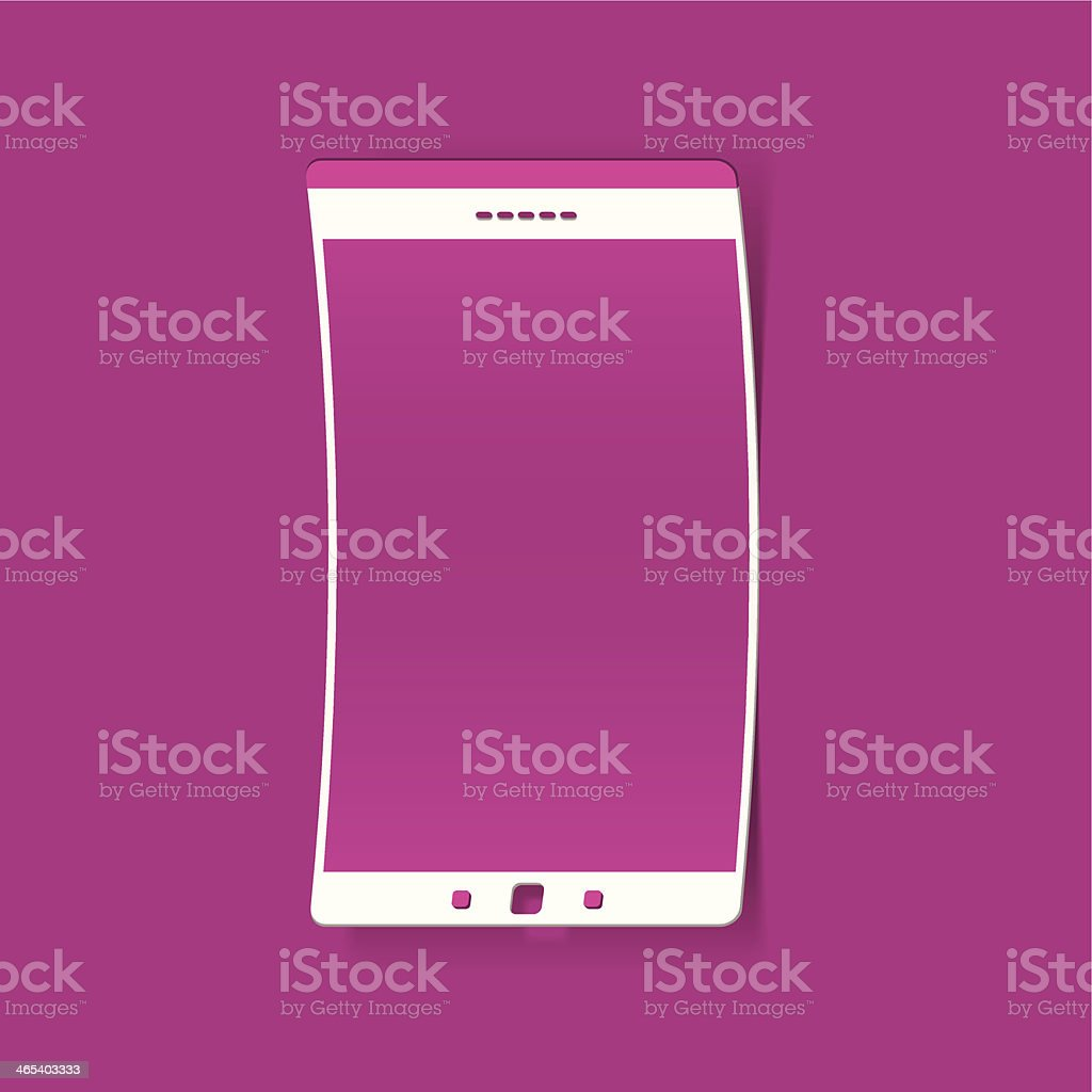 smartphone sticker royalty-free stock vector art