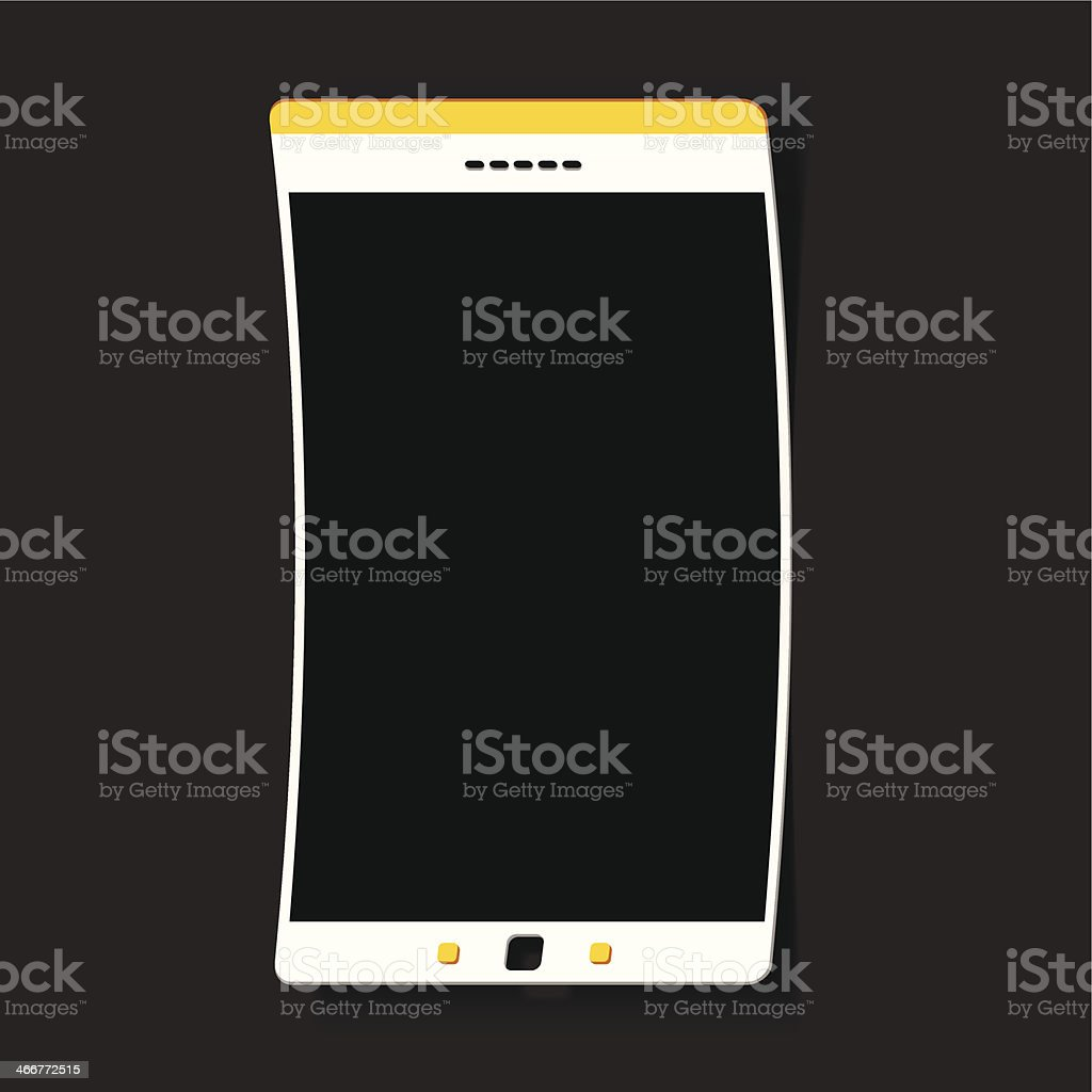 smartphone sticker royalty-free stock vector art