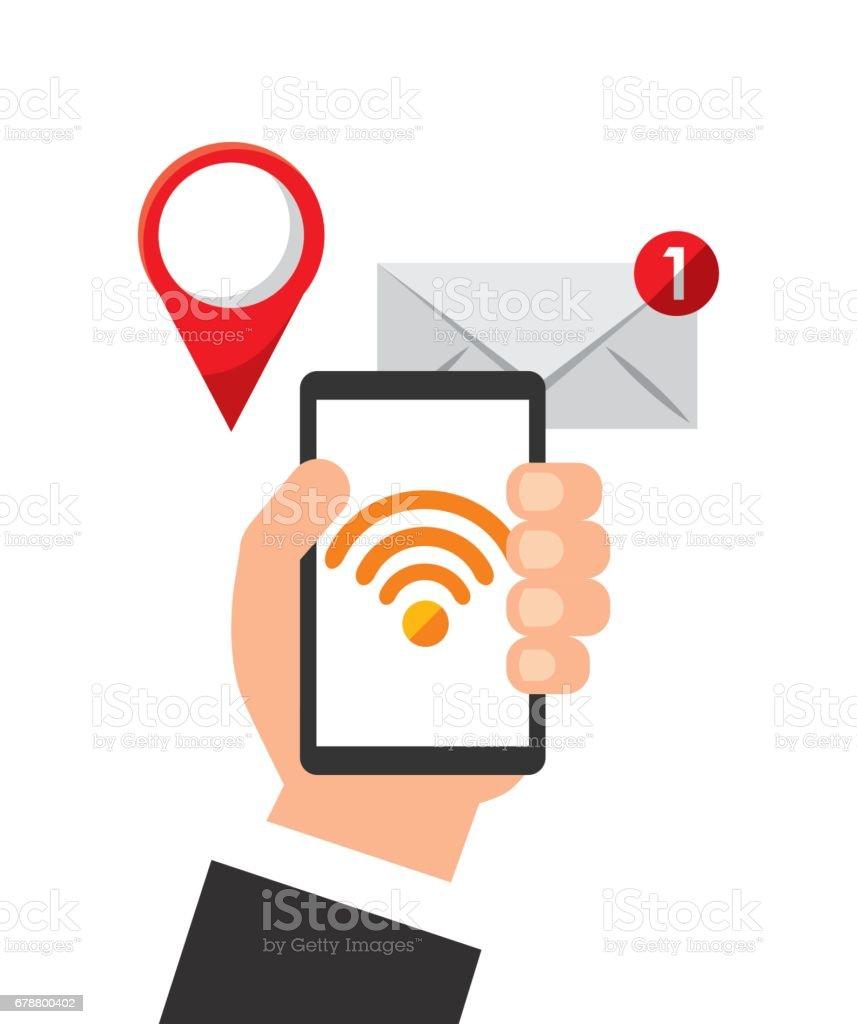 icône électronique de la technologie de l'appareil smartphone icône électronique de la technologie de lappareil smartphone – cliparts vectoriels et plus d'images de affaires libre de droits