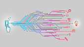 Smartphone touch bright design ideas