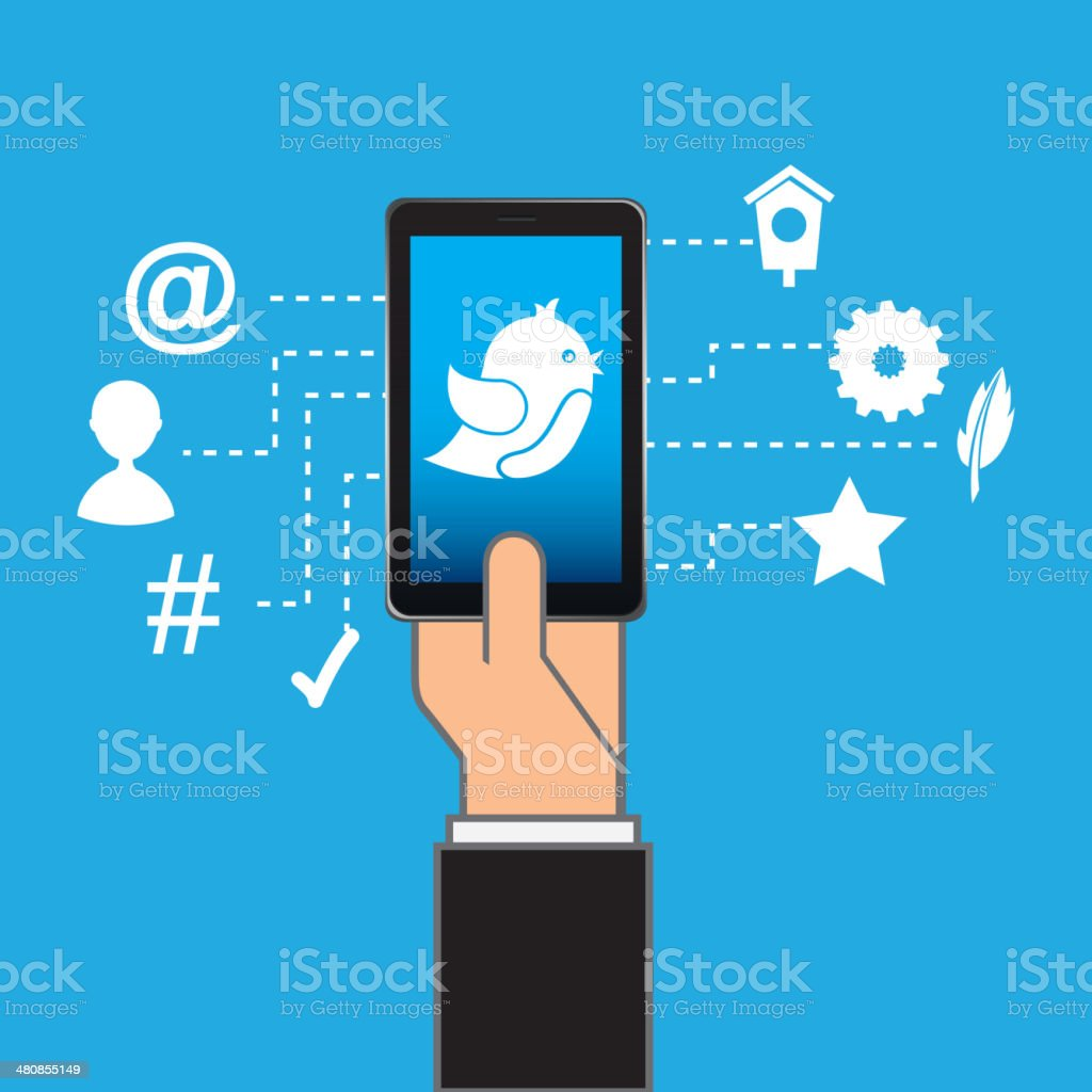 smartphone - Royalty-free Adult stock vector