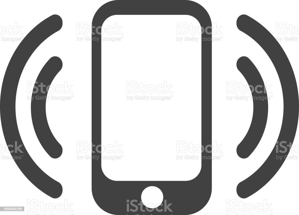 Smartphone with wi-fi icon royalty-free smartphone with wifi icon stock vector art & more images of accessibility