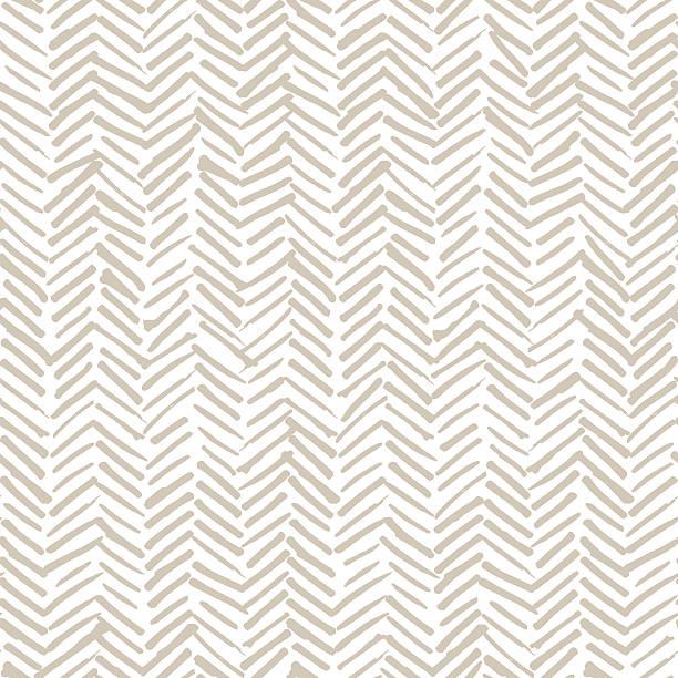 smeared bezszwowe wzór w jodełkę konstrukcja - beżowy stock illustrations