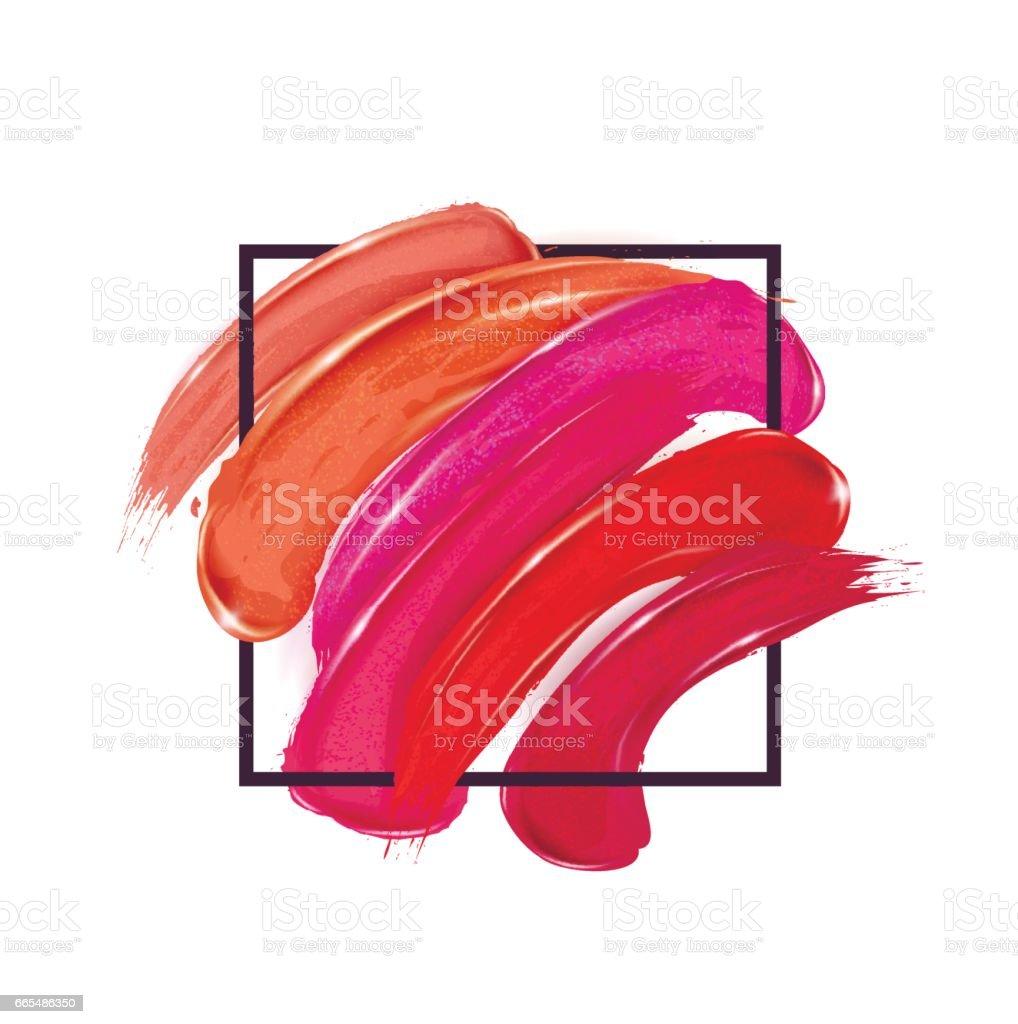 Smears lipstick set.