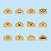 Smile Face taco