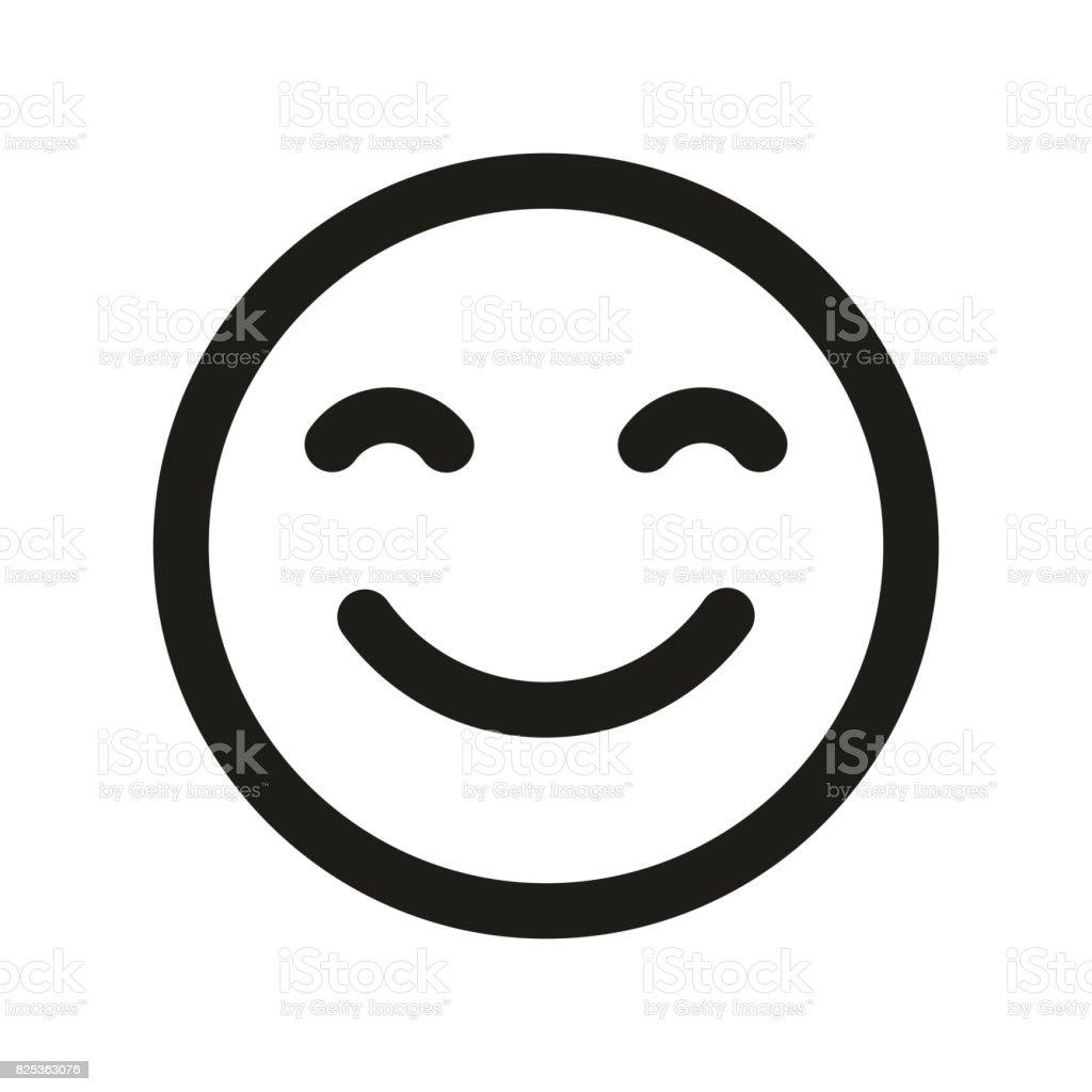 smile face vector icon emoji smile stock vector art more images of rh istockphoto com smiley vectoriel smile vector black vector