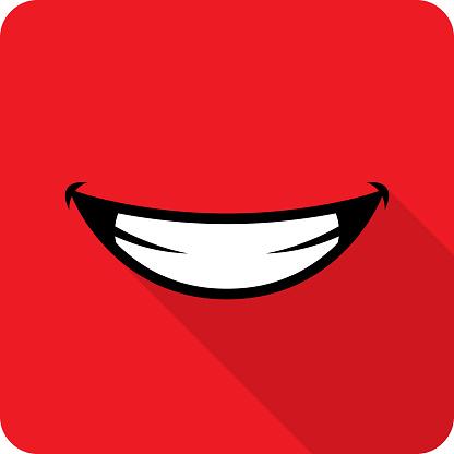Smile Icon Flat