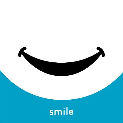 Smile Icon Logo clipart