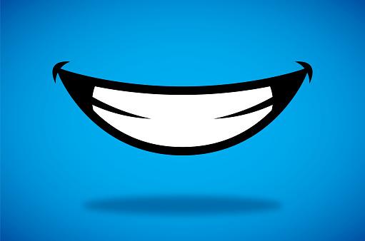 Smile Icon - Stockowe grafiki wektorowe i więcej obrazów Antropomorficzna buźka
