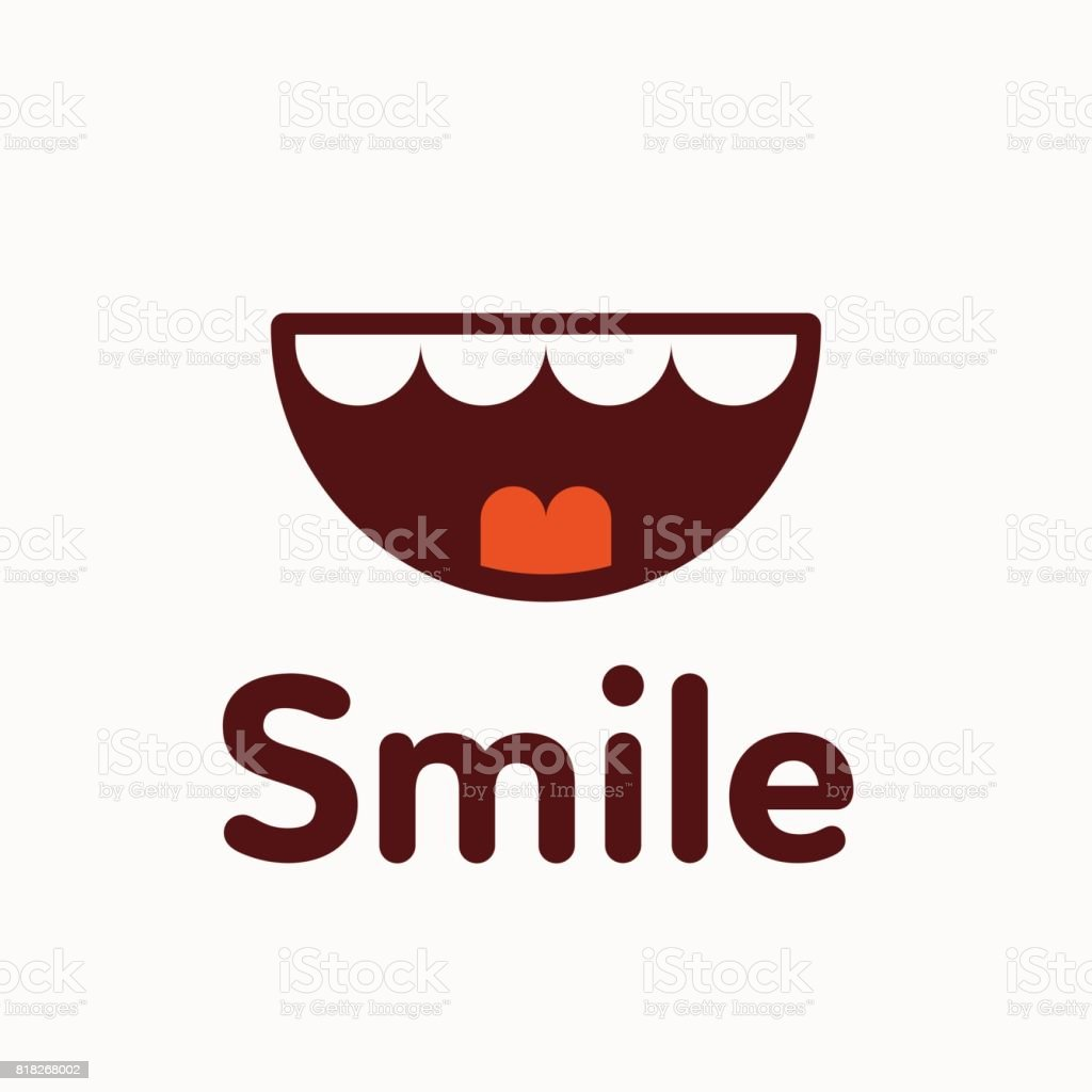 Smile icon vector illustration royalty-free smile icon vector illustration stock illustration - download image now