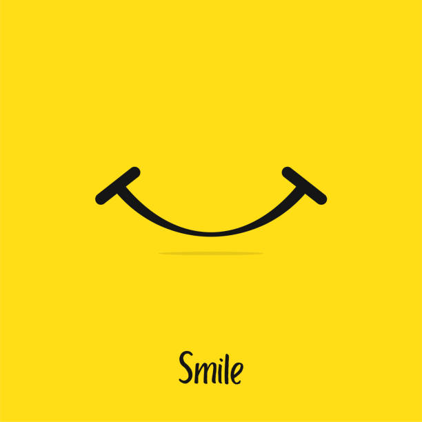 Smile Logo Vector Design Template vector art illustration