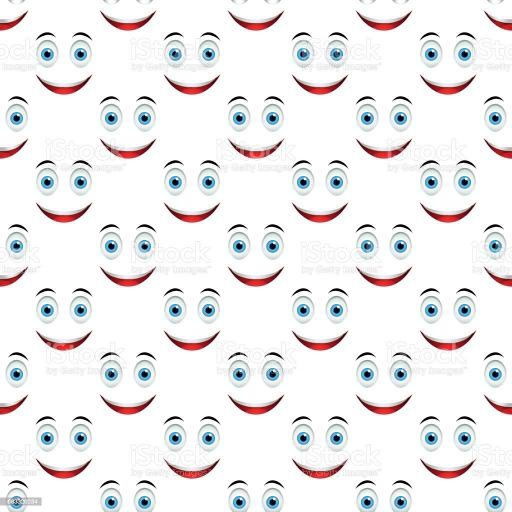 Smile pattern seamless royalty-free smile pattern seamless stock vector art & more images of avatar