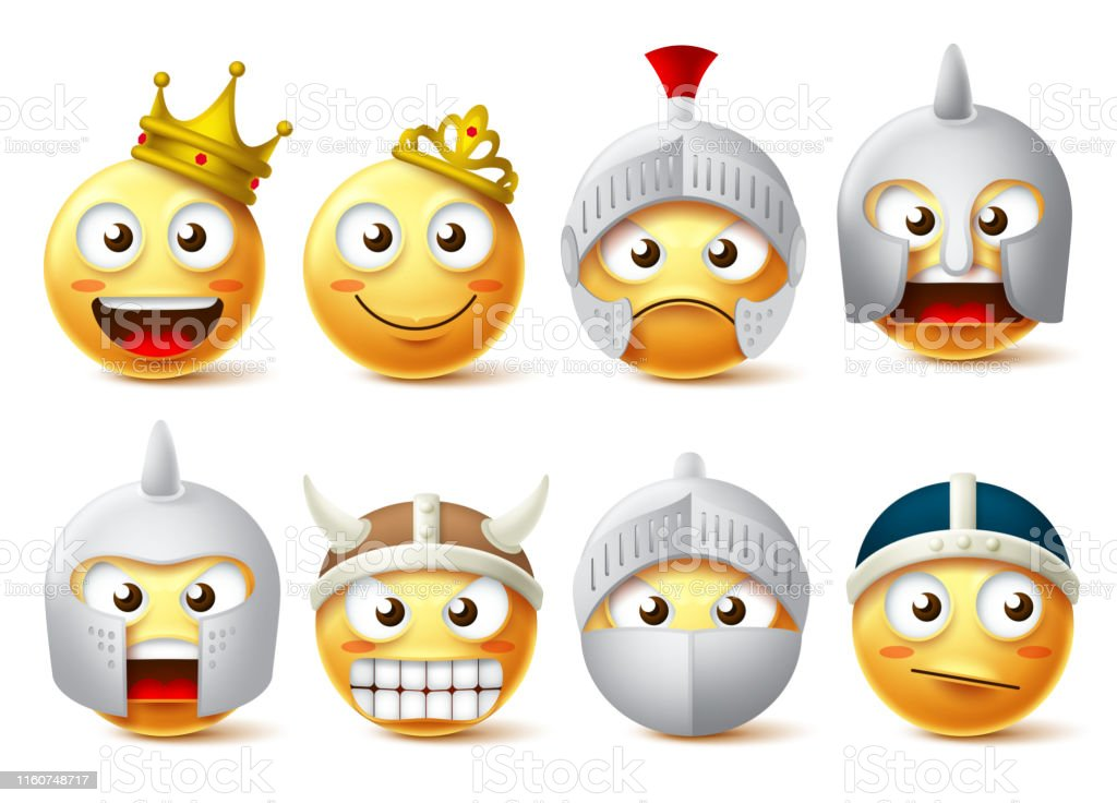 Smiley Face Vector Character Set Smileys And Emoticons