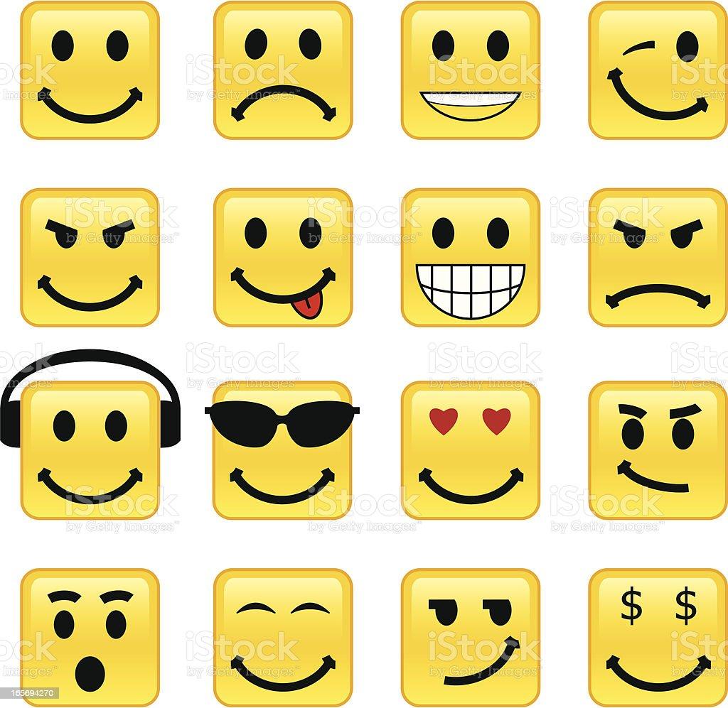 Smiley Face royalty-free stock vector art
