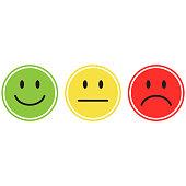 smiley icon, emoticon vector