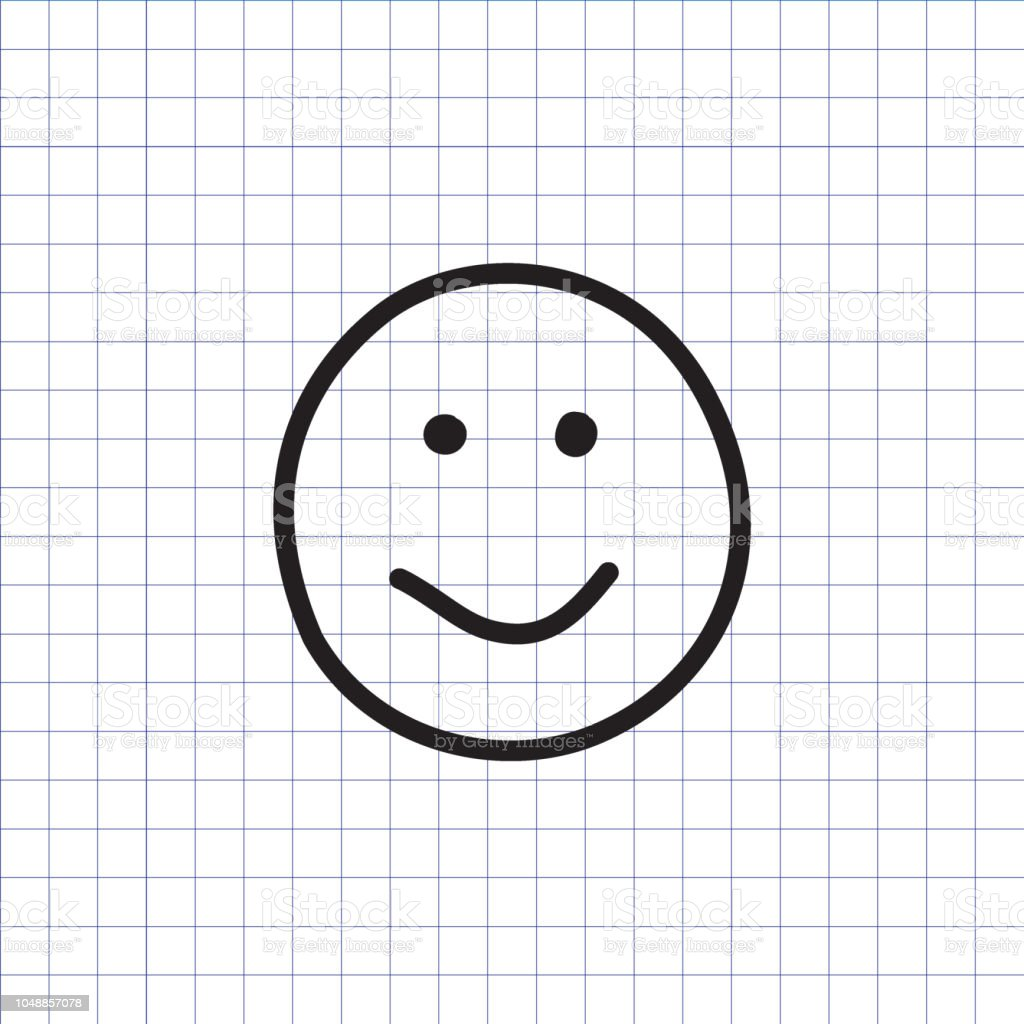 Smiley Icon Happy Face Symbol Stock Vector Art More Images Of