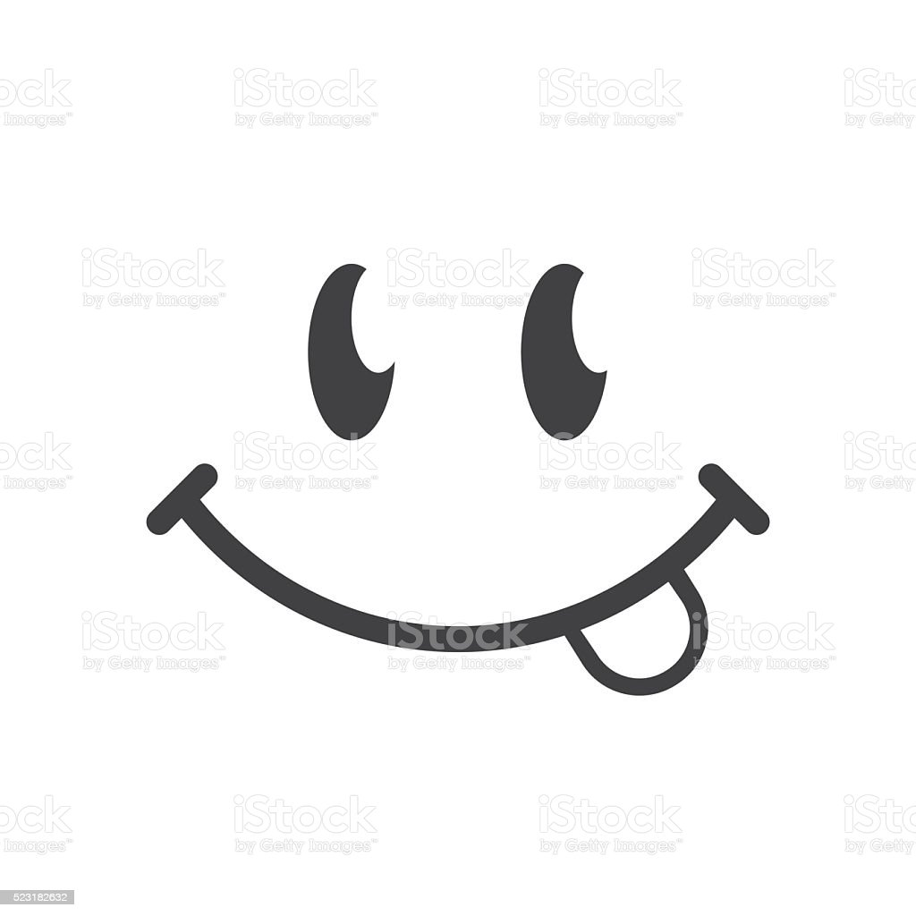royalty free yummy face clip art vector images illustrations istock rh istockphoto com Blue Smiley Face Clip Art Animated Smiley Face Clip Art