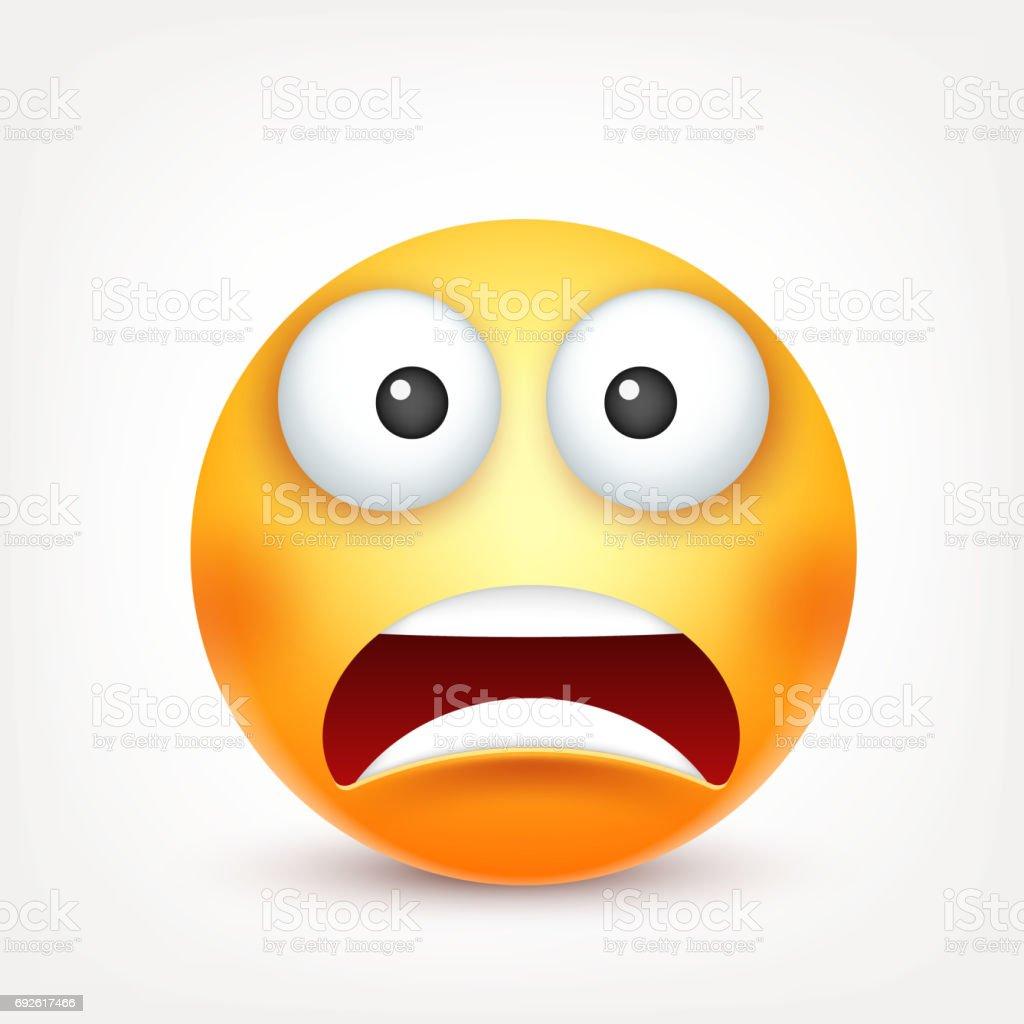 Scared Emoticon Smiley Emoticon De Mie...