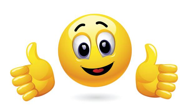 Best Thumbs Up Emoji Illustrations, Royalty-Free Vector ...