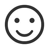 Smiley sign icon. Happy face symbol