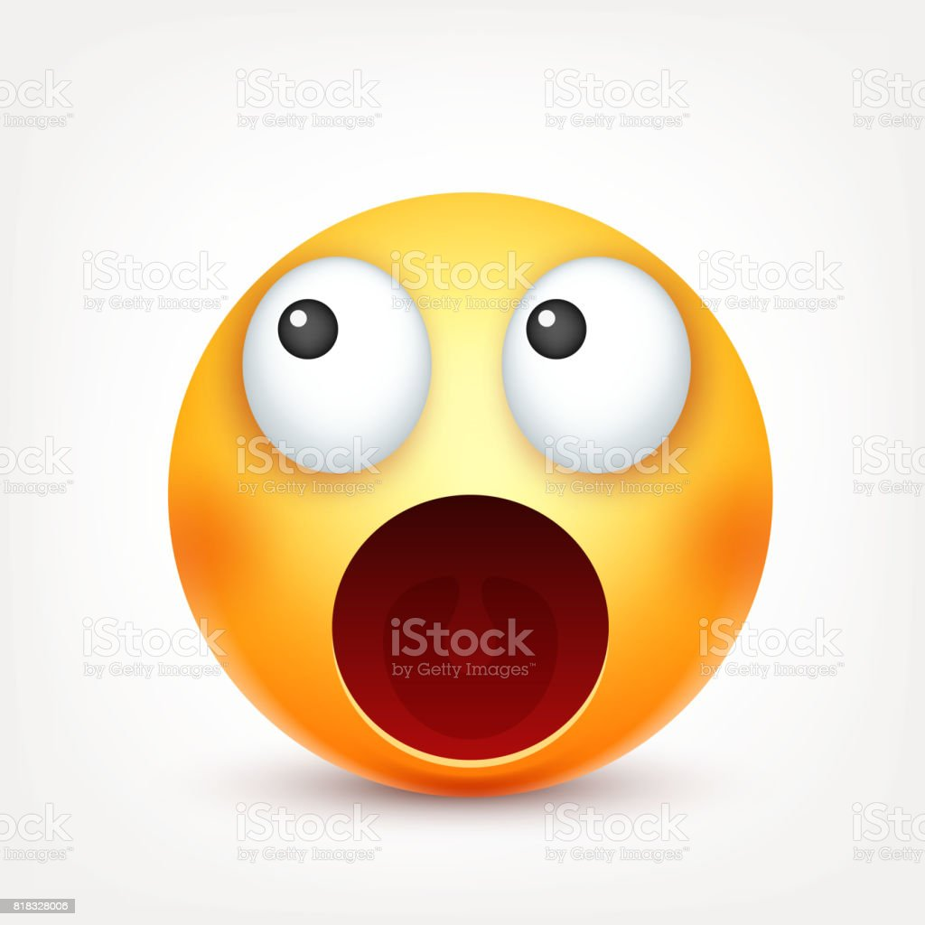Gulen Ifade Sari Yuz Duygularla Yuz Ifadesi 3d Gercekci Emoji