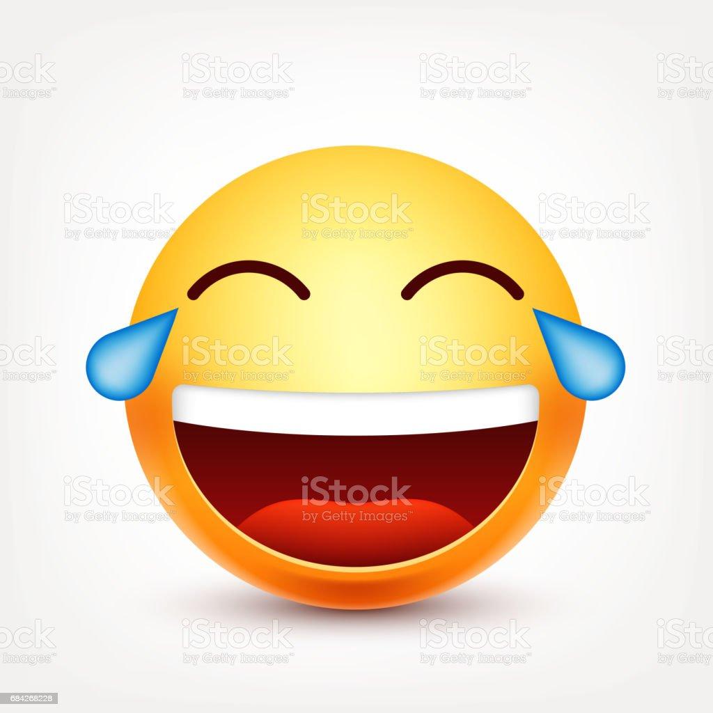 lachen tränen smiley