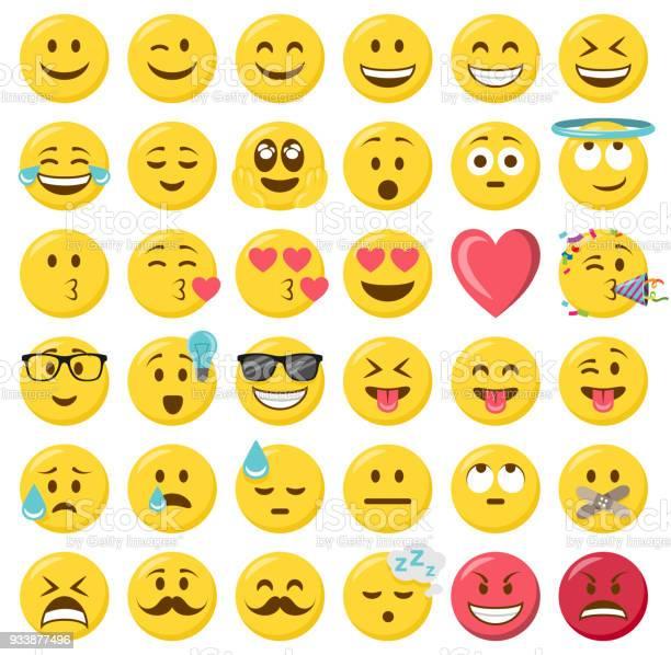 Smileys emoji emoticon flat design set vector id933877496?b=1&k=6&m=933877496&s=612x612&h=oqiybkeom1wbjk2gn8dvfd1kukuk5saazovbjuuklxy=