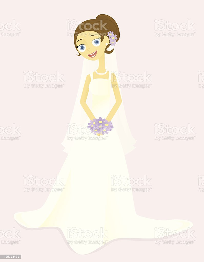 Smiling Bride royalty-free smiling bride stock vector art & more images of adult