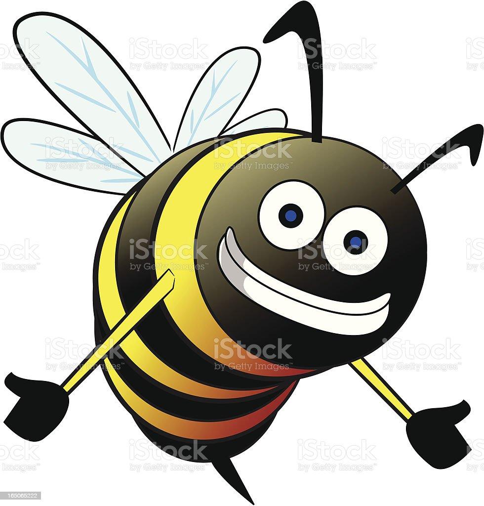 smiling bumble bee cartoon stock vector art 165065222 istock