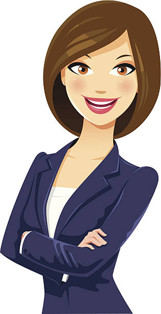 Royalty Free Professional Woman Clip Art, Vector Images ...