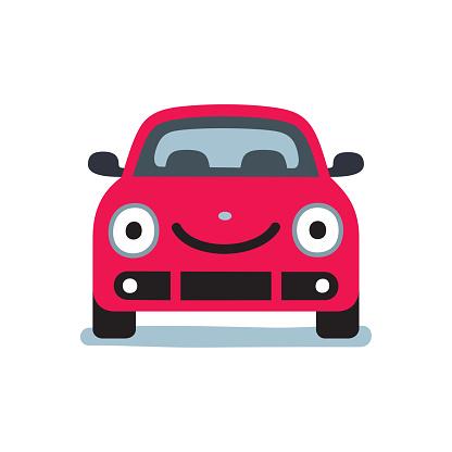 Smiling car