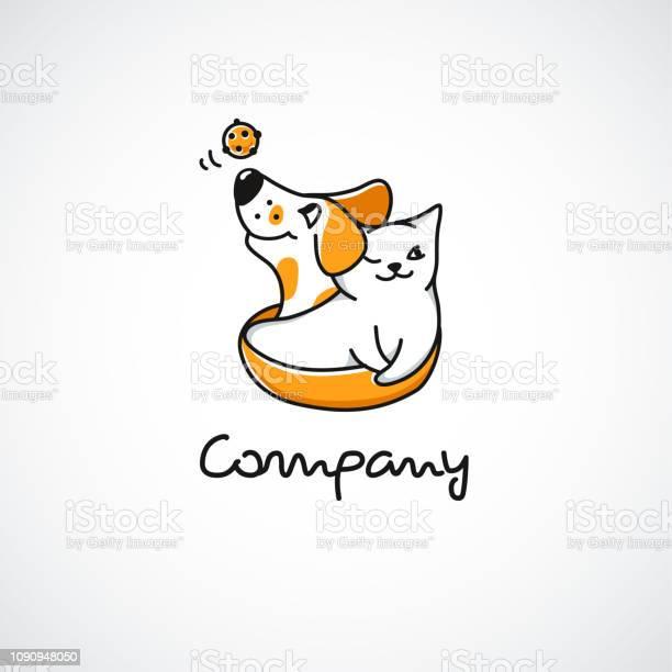 Smiling cat and dog ball toy cartoon happy mascots cute character for vector id1090948050?b=1&k=6&m=1090948050&s=612x612&h= jsdmexr7kpisfqb7fxypryvz9a2xtaeuljqzcvmzac=
