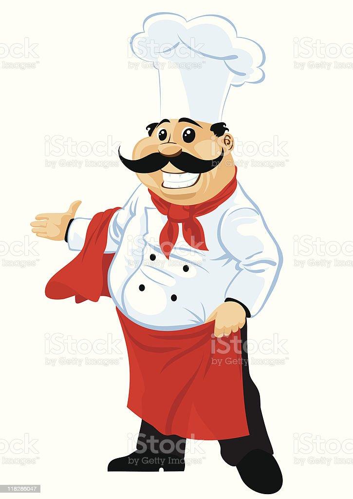 Chef cuisinier cliparts vectoriels et plus d 39 images de for Cuisinier humour