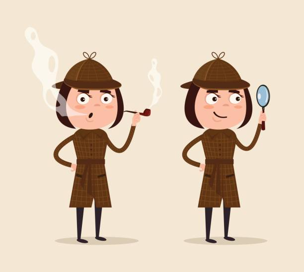 Best Sherlock Holmes Illustrations, Royalty-Free Vector ...