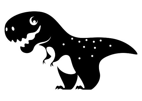smiling dinosaur symbol
