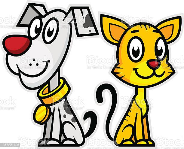 Smiling dog and cat vector id187221325?b=1&k=6&m=187221325&s=612x612&h=aqyhfnp4bragovi3gxf7o7r3xx38tjtegtsn0stpts0=