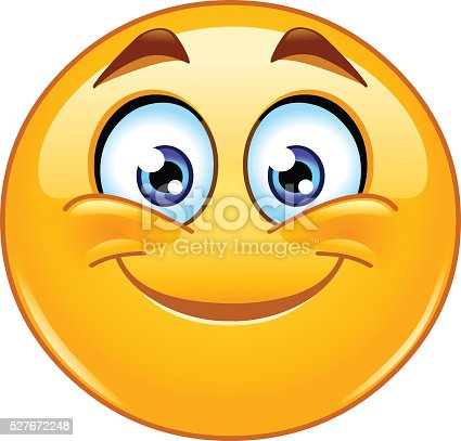 Smiling emoticon