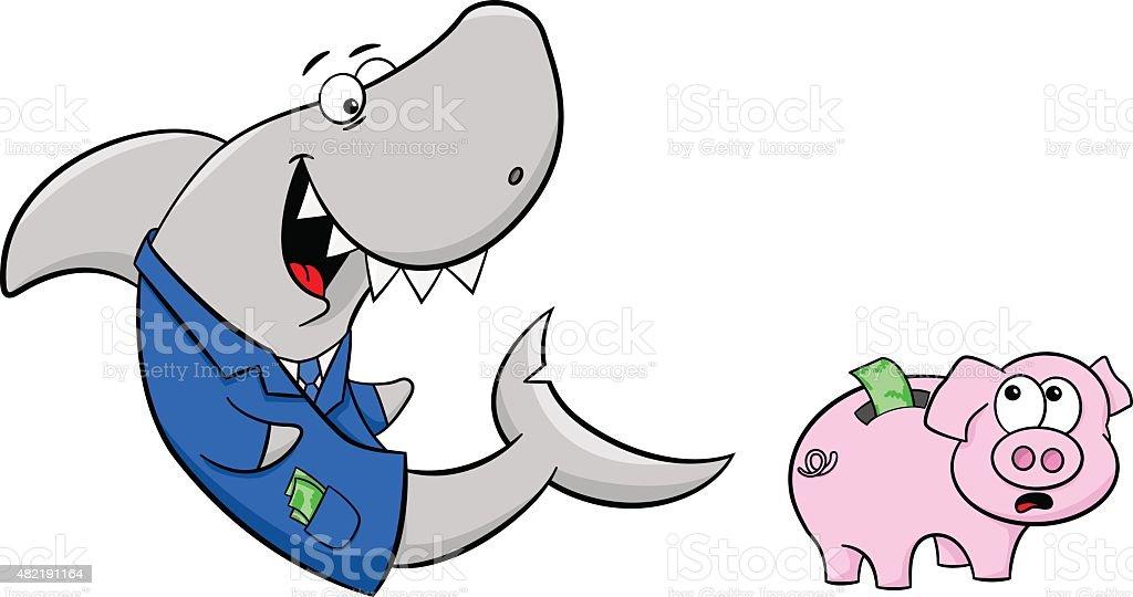 Shark Mummy Pig Clip Art Silhouette Png Image