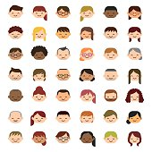 42 People Icon Set.