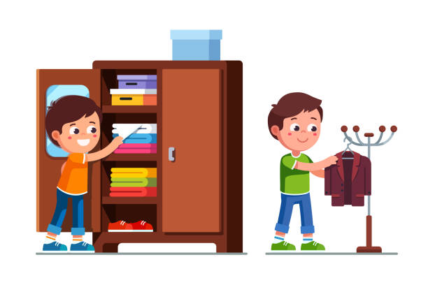 Best Getting Ready For School Illustrations, Royalty-Free ...