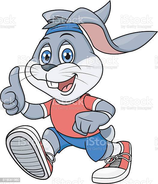 Smiling rabbit jogging 2 vector id519081980?b=1&k=6&m=519081980&s=612x612&h=v5fd4f0crsk5ypxjiunyllbjesfu7djt1nrb9o4o1ek=