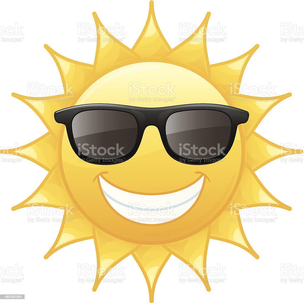 royalty free cartoon sun clip art  vector images sun wearing sunglasses clipart sunglasses black and white clipart