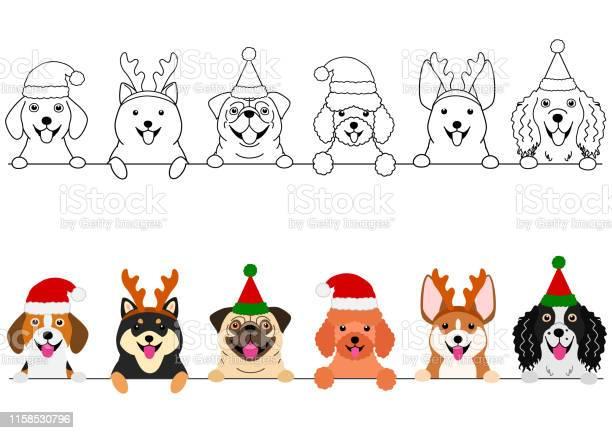 Smiling small dogs with christmas costumes border set vector id1158530796?b=1&k=6&m=1158530796&s=612x612&h=fsm10wqcgv9fzyiv0j4i2cf7gcq8qevqgneirx 6 e4=
