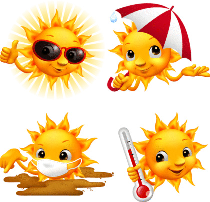 Smiling Sun - Weather No.2