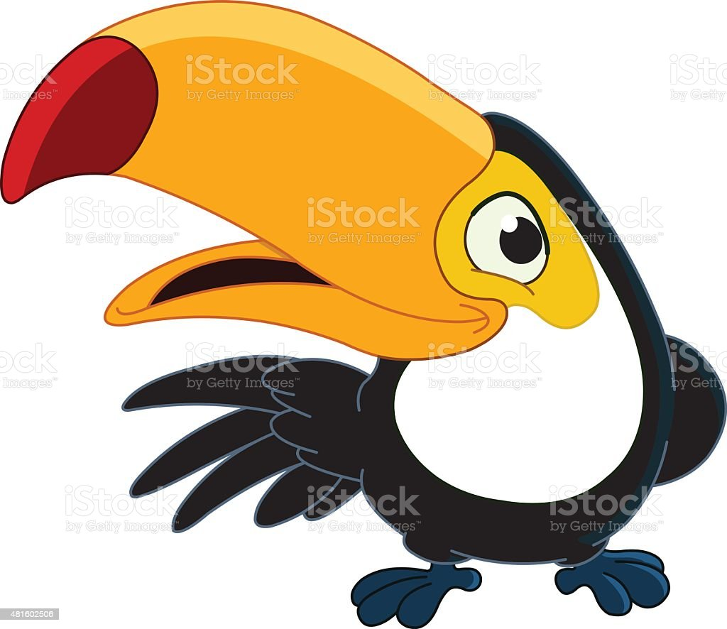 royalty free toco toucan clip art vector images illustrations rh istockphoto com cartoon toucan clipart baby toucan clipart