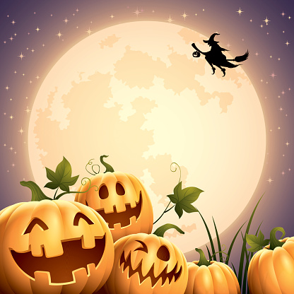 Smilly Pumpkins - Big Moon
