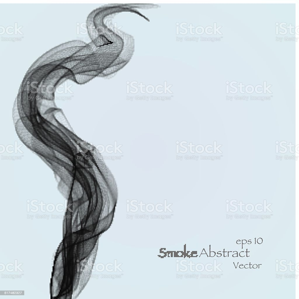 Smoke background elegant vector art illustration
